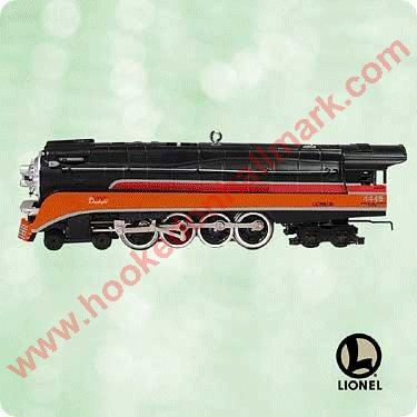 2003 Lionel Train #8 - 4449 Daylight Steam Locomotive
