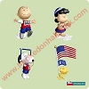 2004 Peanuts Games - set of 4