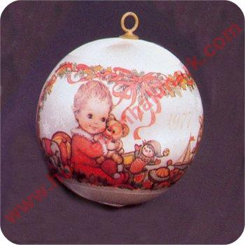1977 Baby's First Christmas - RARE! - No Box