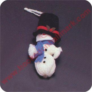 1973 Mr Snowman - RARE Mint in package