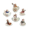 1991 Tiny Tea Party - Miniature set of 6 - Damaged Box