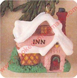 1991 Old English Village #4 - Country Inn - Miniature