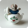 1991 Tiny Tea Party - Mouse in Teapot - NO BOX