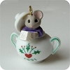 1991 Tiny Tea Party - Mouse in Sugar Bowl - NO BOX