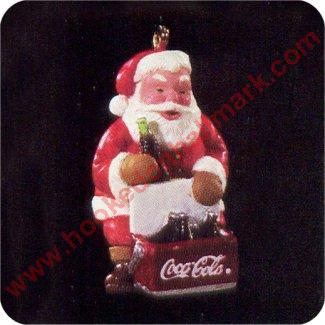 1995 Cool Santa Coca Cola, Club - Miniature