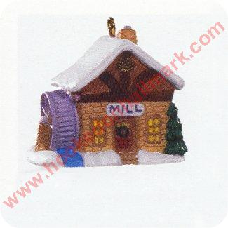 1996 Old English Village #9 - Village Mill - Miniature