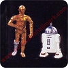 1997 C-3PO and R2-D2 - Miniature