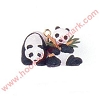 1998 Peaceful Pandas - Miniature
