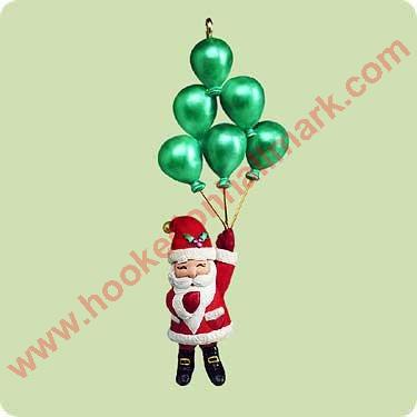 2004 Santa's Balloon Tree - Miniature