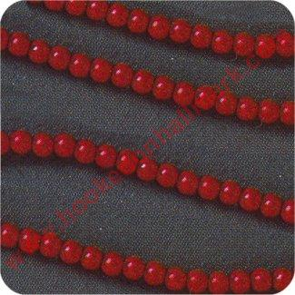 Miniature Red Beaded Garland 6' - by Hallmark