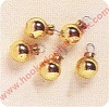 Miniature Glass Ornaments - GOLD