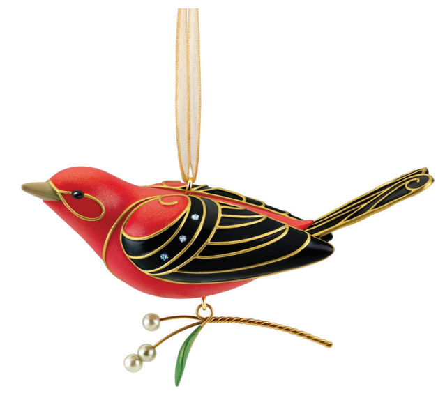 2011 Beauty of Birds Scarlet Tanager EVENT LTD Ed - ARTIST Signed