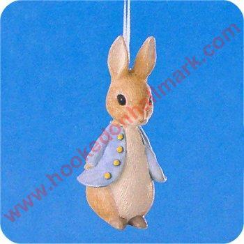Hallmark Ornament Benjamin Bunny Beatrix Potter Peter Rabbit New old stock