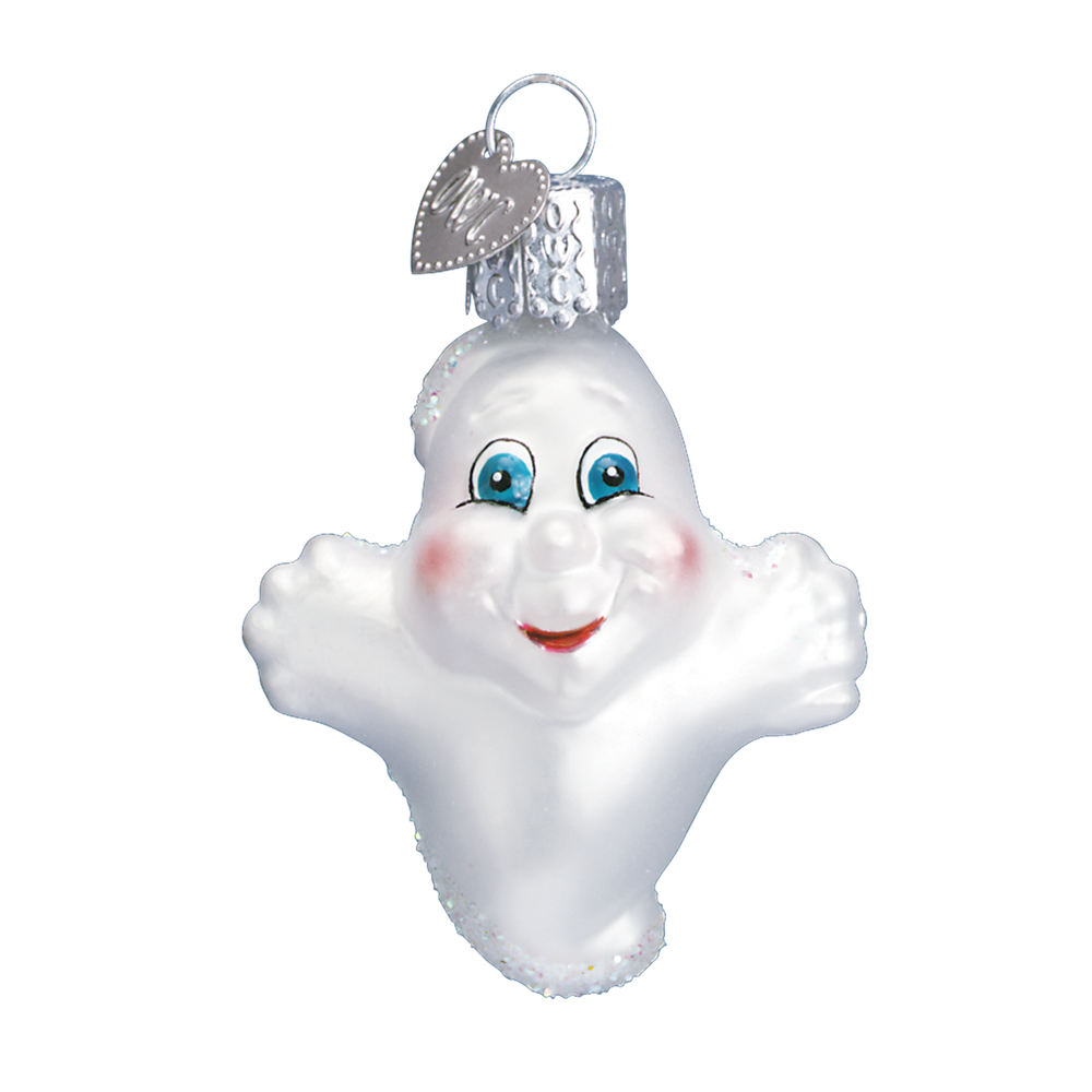 Ghost - Old World Christmas Blown Glass