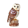2020 Owl on Tree Stump Figurine - Jim Shore Heartwood Creek