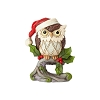2019 Christmas Owl on Branch Figurine - Jim Shore Heartwood Creek