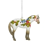 Trail of Painted Ponies - Winter Feathers Ornament