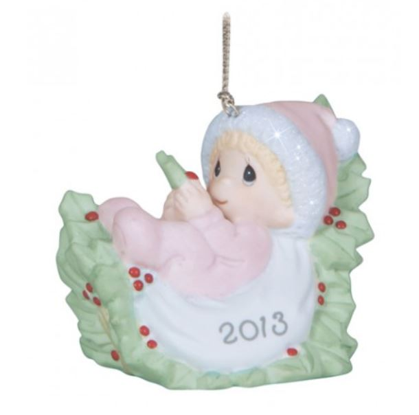 Precious moments baby girl first christmas 2020 ornament