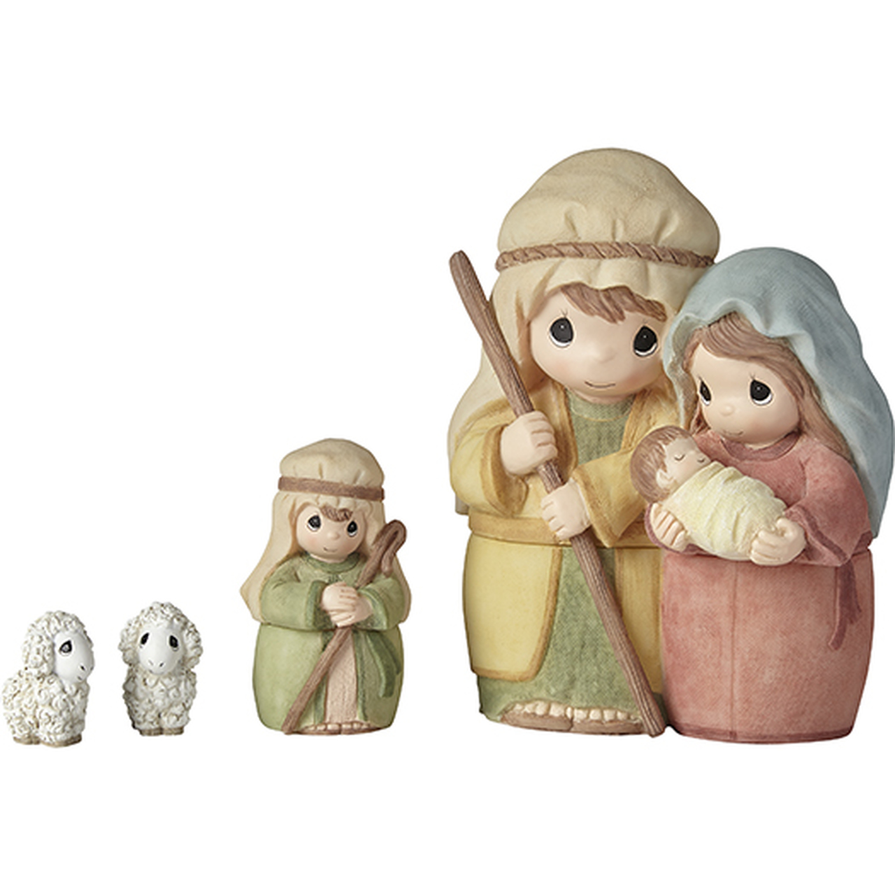 Celebrate The Miracle At The Heart Of Christmas Nesting Nativity - Precious  Moments
