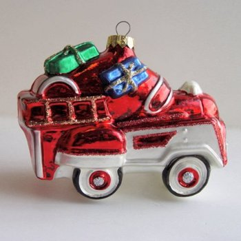 K52 1995 Hallmark Keepsake Ornament Murray Fire Truck MIB!