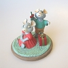 Mice with Mistletoe - Tender Touches Figurine