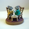 Tea Party - Mini Memories Figurine - Rare