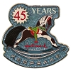 2018 45th Anniversary LAPEL PIN, Rocking Horse