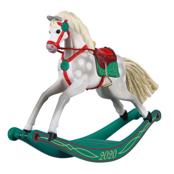 Christmas Ornaments 2020 New Series 2020 Rocking Horse Memories Hallmark Christmas Ornament