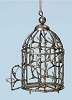 Wire Bird Cage Ornament | Roman, Inc
