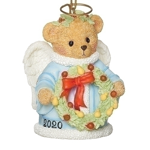 Cherished Teddies Christmas 2020 Cherished Teddies 2020 Dated Angel at Hooked on Ornaments