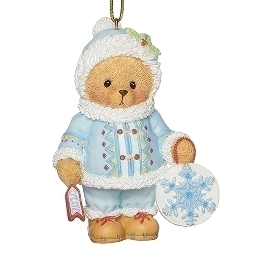 Cherished Teddies Christmas 2020 2020 Teddy Annual Ornament   Cherished Teddies at Hooked on