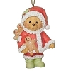 2021 Cherished Teddies SANTA TEDDY Ornament