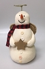 1997 Snowman Angel Tree Topper