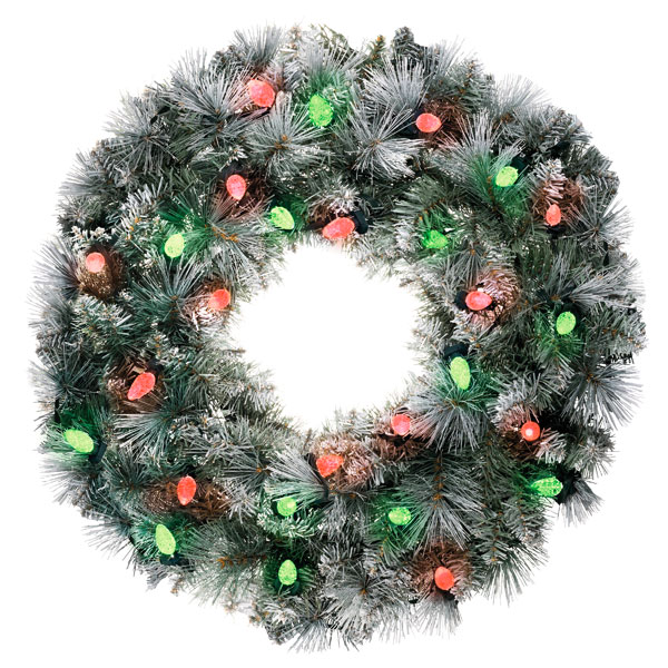 List Of Vendors At Christmas Decor Show 2020 2020 Sound a Light Hallmark Christmas Wreath   Hooked on