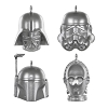 2020 Miniature Star Wars Miniature Ornament Set