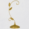 2021 Ornament Display Stand  GUILDED LEAVES style - 10 1/2