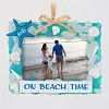 2021 On Beach Time Seashell Photo Holder Ornament