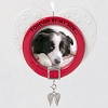 2021 Forever By My Side Pet Memorial Porcelain Photo Frame Ornament