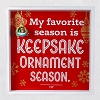 2020 My Favorite Season is  Keepsake Ornament Season - 8 1/2
