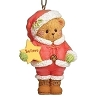 2021 Cherished Teddies - SANTA BEAR Ornament