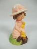 1975 Girl with Baby Ducks - Merry Miniature - Rare!