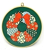 1983 Enameled Christmas Wreath