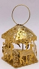 1984 Brass Carousel - Lighted