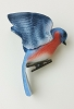 1986 Bluebird - clip on Porcelain - RARE