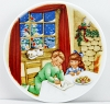 1990 Collectors Plate #4 - Cookies for Santa