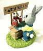 Rabbits at Juice Stand - Tender Touches Figurine