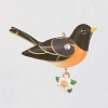 2021 Beauty of Birds MINIATURE - Spring Robin -  SHIPPING NOW