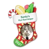 2021 Santa's Purr-fect Helper Photo Holder - Avail JULY