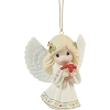 2021 May Your Christmas Blossom With Peace and Happiness - Avail JUNE 11th Annual Angel Precious Moments Ornament