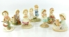 Mary and Friends by Mary Hamilton - Lot of SEVEN RARE PROTOTYPE FIGURINES $99. each or all 7 for $495.00